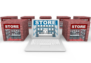 bigstock-Online-Vs-Brick-And-Mortar-Sto-8033247